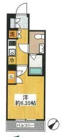 スパシエ・エル新横浜5階Fの間取り画像