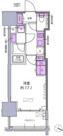 赤羽橋駅 徒歩4分11階Fの間取り画像