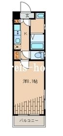 ピアコートTM新宿戸山4階Fの間取り画像