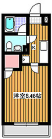 ブランティーグル1階Fの間取り画像