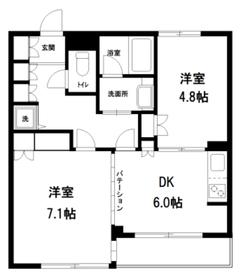 パティオ西早稲田5階Fの間取り画像