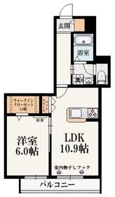 高幡不動駅 徒歩7分3階Fの間取り画像