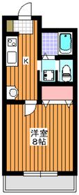 和光市駅 徒歩5分4階Fの間取り画像