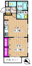 コーラル下丸子 202号室