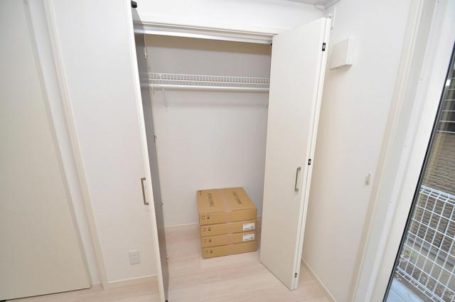 メゾン・ソレイユ長栄寺 コンパクトながら収納スペースもちゃんとありますよ。