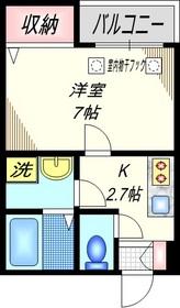 KAUHALE-K3階Fの間取り画像