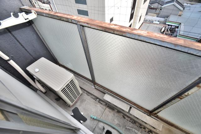 マンションSGI今里ロータリー バルコニーは眺めが良く、風通しも良い。癒される空間ですね。