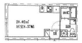 雑司が谷駅 徒歩16分1階Fの間取り画像