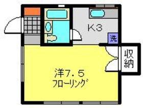 パーク横浜Ⅱ1階Fの間取り画像