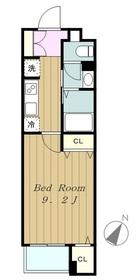 ルピナスⅢ3階Fの間取り画像