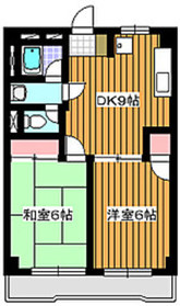 東武練馬駅 徒歩6分5階Fの間取り画像