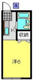 上星川駅 徒歩10分2階Fの間取り画像