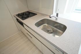 清潔感のあるキッチン!