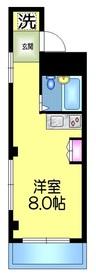 メゾンジョリィ3階Fの間取り画像