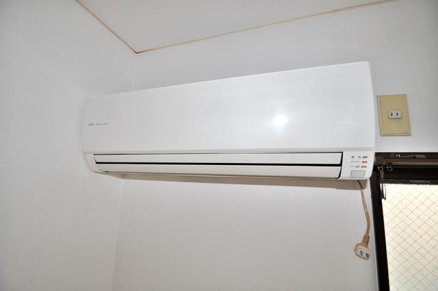 レスポワール うれしいエアコン標準装備。快適な生活が送れそうです。