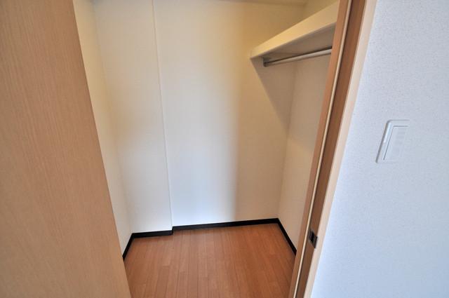 M'プラザ布施弐番館 人気のWICです。広々とお部屋が使えますね。