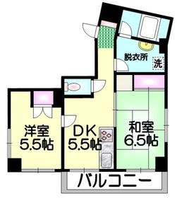 HSB町屋3階Fの間取り画像