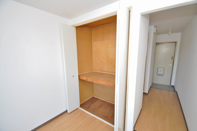 コンドミニアム太平寺 もちろん収納スペースも確保。お部屋がスッキリ片付きますね。