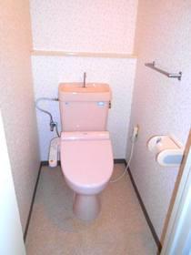 洗浄便座設置済のトイレ