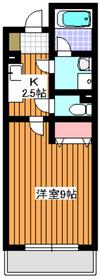 リーベ211階Fの間取り画像