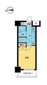 スカイコート笹塚駅前8階Fの間取り画像