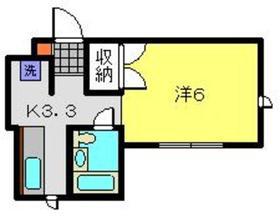 ライブラK2階Fの間取り画像