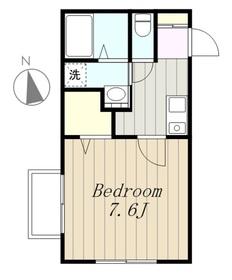 ガーデンヒル1階Fの間取り画像