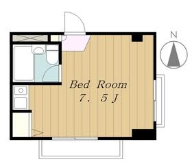 下田第三マンション3階Fの間取り画像