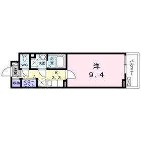 ロイヤル サトックス2階Fの間取り画像