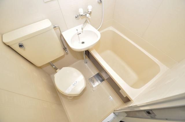 アリタマンション長瀬 シャワー一つで水回りが掃除できて楽チンです