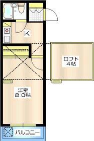 ミ・アビタシオン・ノザワ4階Fの間取り画像