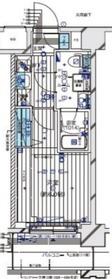 メインステージ横濱伊勢佐木Ⅱ9階Fの間取り画像