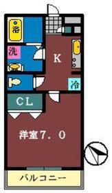 シャルマンコート2階Fの間取り画像