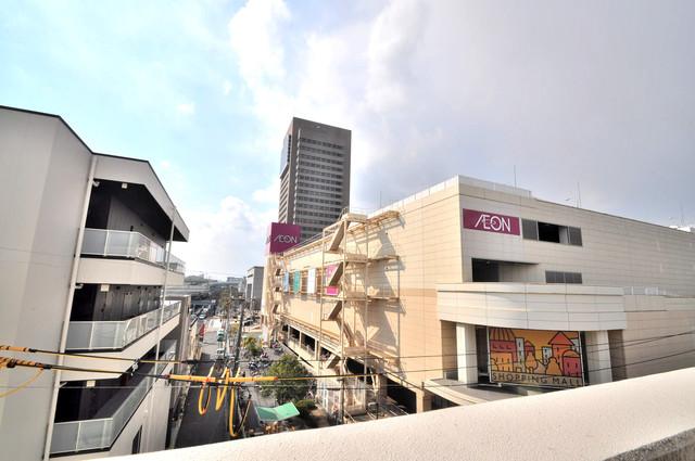 トリニティ東野 この見晴らしが日当たりのイイお部屋を作ってます。