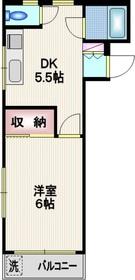 Li・Highness2階Fの間取り画像