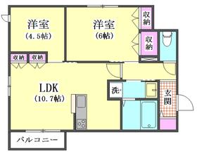 ロイズ ブルー 203号室