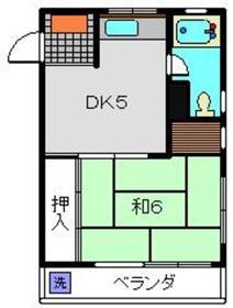 リバーサイドビル3階Fの間取り画像