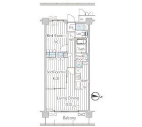 フェールメゾン西大島3階Fの間取り画像