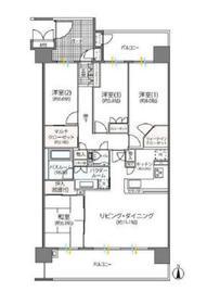 海老名駅 徒歩13分7階Fの間取り画像