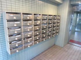 メールBOXはエントランスにあります