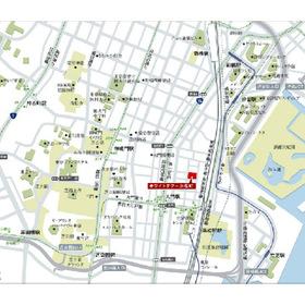 White Tower Hamamatsucho案内図