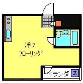 シャトル大恵E3階Fの間取り画像