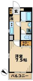 ソフィア永山3階Fの間取り画像