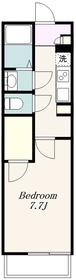 クレイノヴィラージュⅡ2階Fの間取り画像