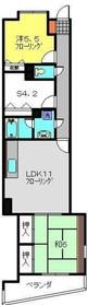 KNCビル弐番館3階Fの間取り画像