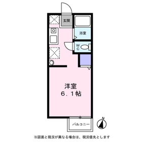 パインアレイ2階Fの間取り画像