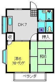 アメニティキャビン1階Fの間取り画像