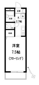 ブラックペッパー2階Fの間取り画像