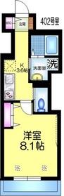 仮称)弁天1丁目メゾン4階Fの間取り画像