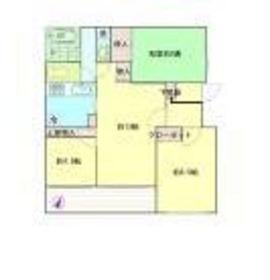 メゾン・ド・コゼット2階Fの間取り画像